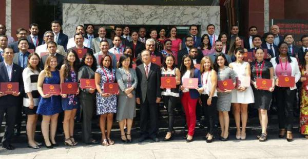 La delegación boliviana compartió experiencias en China con representantes de otros 11 de Latinoamérica