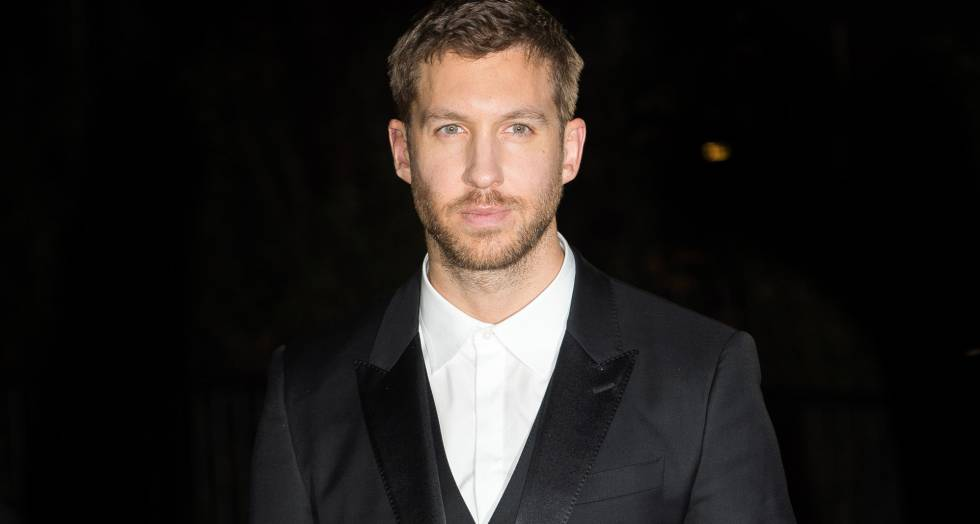 Calvin Harris, a la llegada de los premios GQ Men Of The Year Awards.