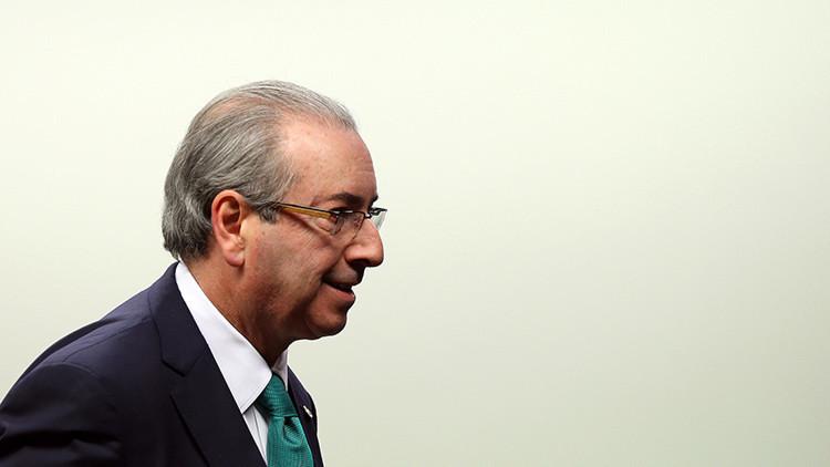 El expresidente de la Cámara Baja del Parlamento de Brasil, Eduardo Cunha