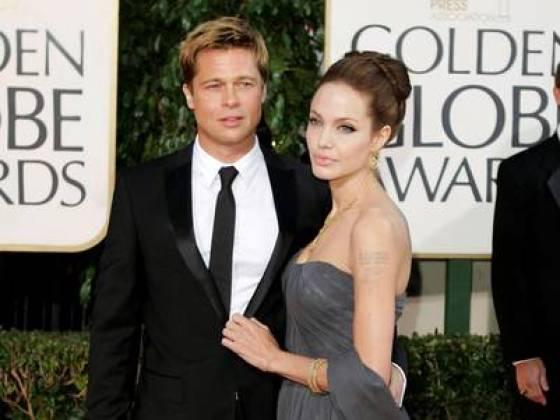 Pitt y Jolie, en 2007, durante una entrega de los Globos de Oro. (AP)