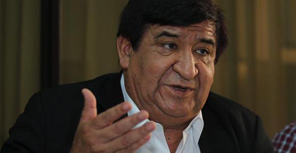 El rector Saúl Rosas visitó la sala de Redacción. En la entrevista habló sobre el trabajo que ya se hizo en obras y los retos que ahora vienen