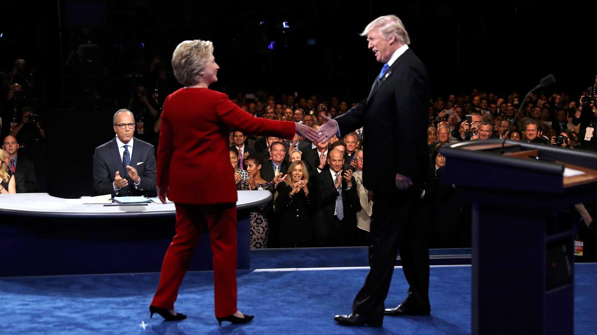 (Reuters) Trump exigió la renegociación de tratados comerciales de Estados Unidos