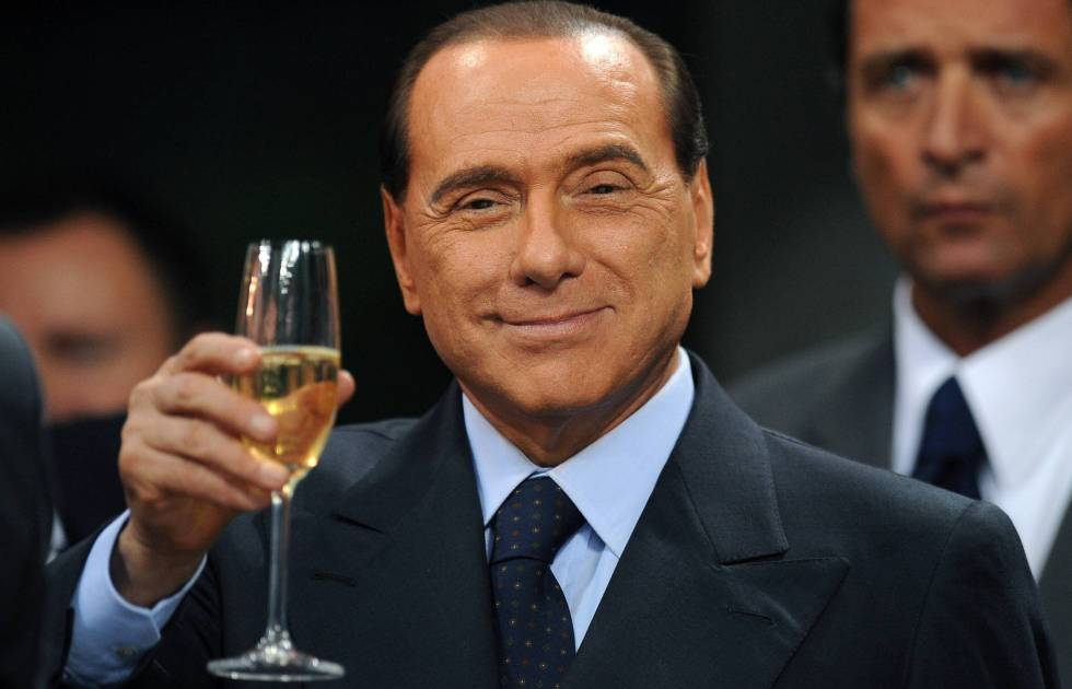 Silvio Berlusconi, en la celebración de su cumpleaños en 2015.