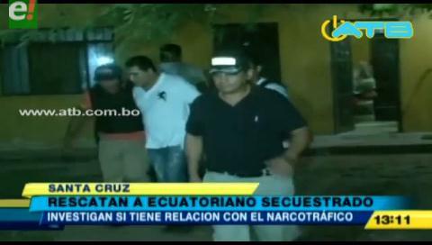 Rescatan a ciudadano ecuatoriano que fue secuestrado