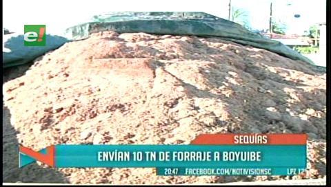 Envían ayuda a Boyuibe para paliar la sequía