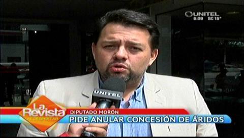 Diputado Morón critica a la Gobernación cruceña por la falta de protección al río Piraí