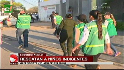 Operativo: Recogen a menores en situación de calle
