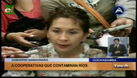 Gobierno sancionará a las cooperativas mineras que contaminen los ríos