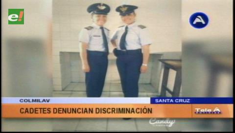 Denuncian discriminación: Tres cadetes dadas de baja en el Colmilav
