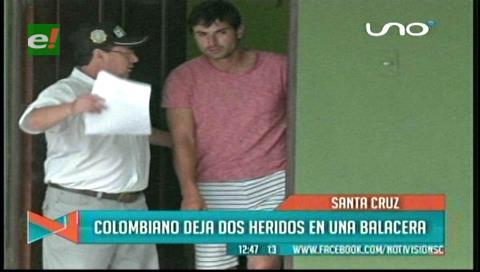 Detienen a colombiano por disparar en una fiesta, hay dos heridos