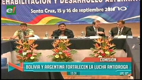 Bolivia y Argentina se reúnen para fortalecer la lucha antidroga