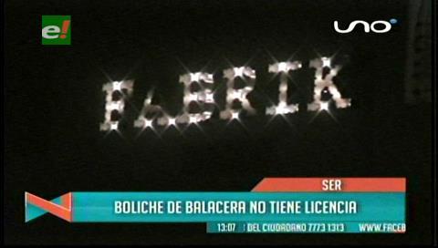 Alcaldía anula la licencia  de Fabrik tras la balacera