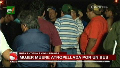 El Torno: Mujer muere atropellada por un bus en Jorochito