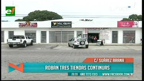 Ladrones roban en 3 negocios y dueños piden seguridad