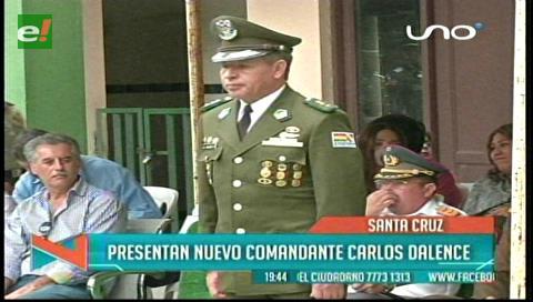 Juan Carlos Dalence toma las riendas de la Policía cruceña