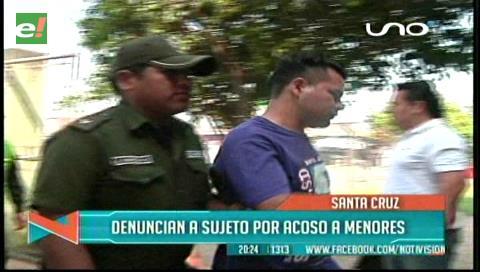 Plan Tres Mil: Joven es arrestado por acosar a estudiantes