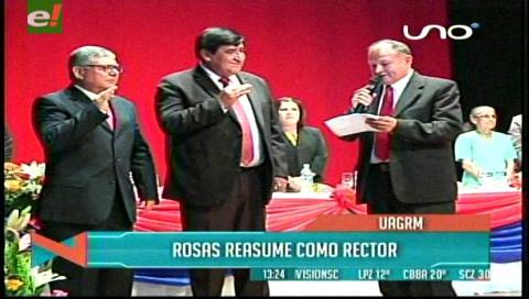 Saúl Rosas reasume el mando de la Uagrm