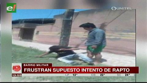 Vecinos del barrio Militar frustran supuesto rapto de una niña de tres años