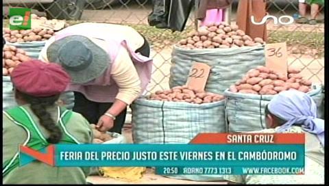 Anuncian Feria del Peso y Precio Justo el viernes en el Cambódromo