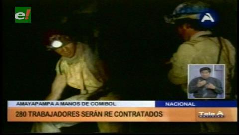 Estatal Comibol reactivará explotación de oro en Amayapampa en octubre