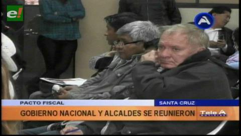 Amdecruz se reunió para tratar Pacto Fiscal
