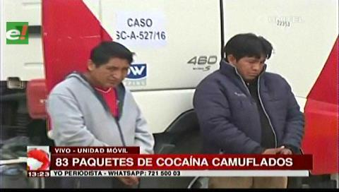 Operativo: 89,5 kilos de droga y 2 detenidos en el barrio San Antonio,