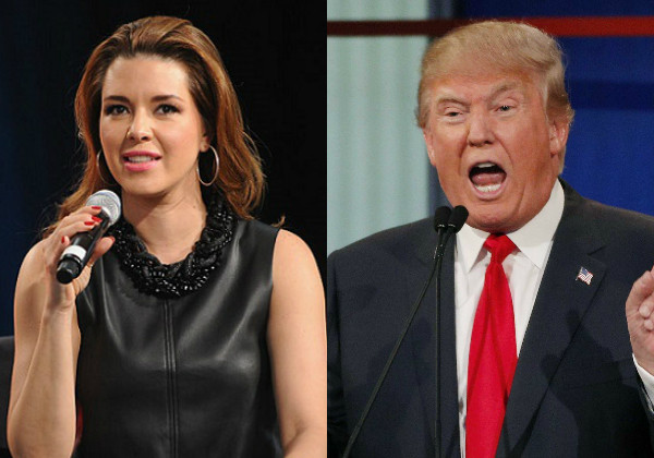 Alicia Machado, Donald Trump
