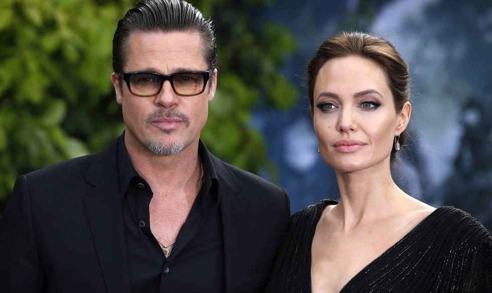 Brad Pitt y Angelina Jolie, en un imagen de 2014.