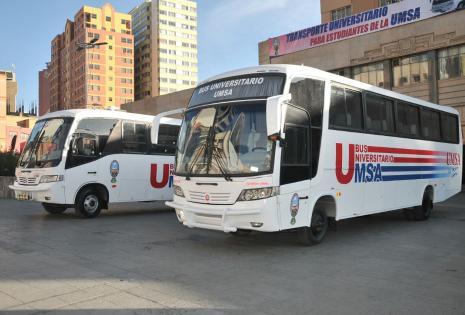Se espera tres etapas del transporte universitario.