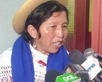 Julia Ramos indica que el presidente Morales conocía problemas del Fondo Indígena