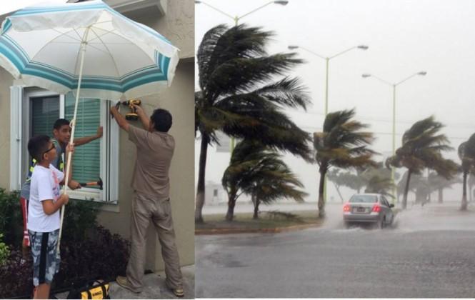 Sepa cómo una familia boliviana se prepara para enfrentar al huracán Matthew en EEUU