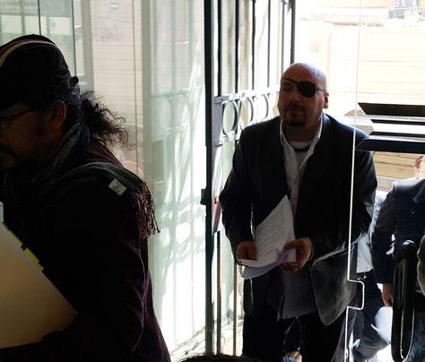 El defensor del Pueblo, David Tezanos Pinto, llegó el 5 de octubre a la Comisión de Derechos Humanos de la Cámara de Diputados. Foto: La Razón
