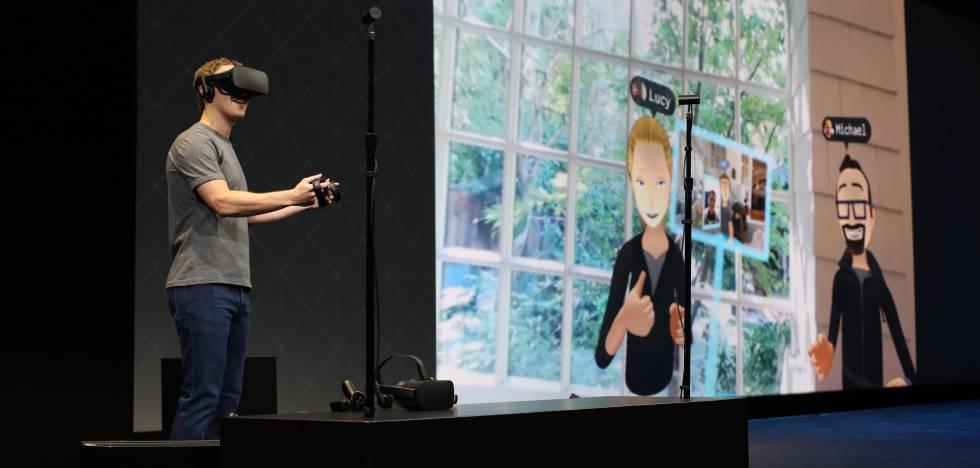 """Zuckerberg: """"Queremos que Oculus sea como el mundo real"""""""