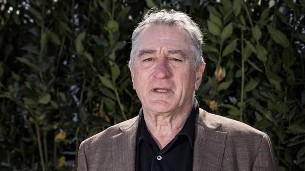 Enfático. Robert De Niro deja en claro que no quiere a Donald Trump de presidente. /AP
