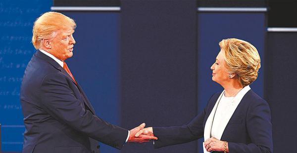 En el país, muchos siguieron la discusión entre los candidatos presidenciables a la espera de controversias