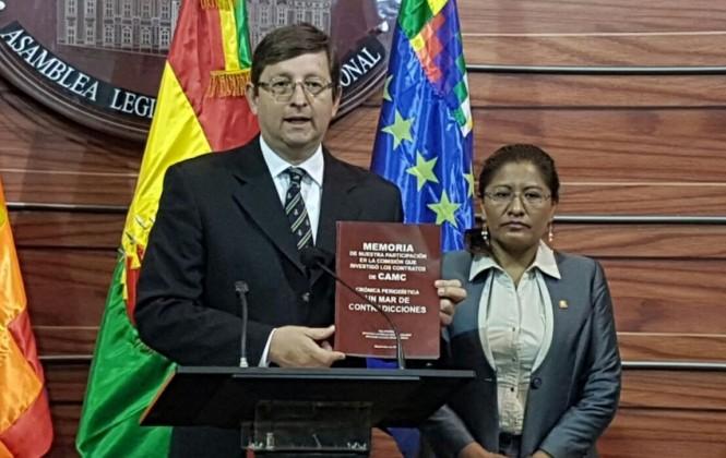 Senadores Ortiz y Muñoz publican su