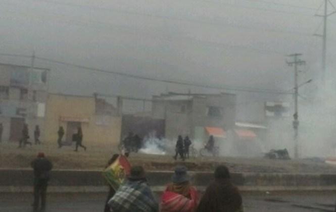 El Alto: Denuncian que se cobra Bs 100 a padres de familia si no asisten a bloqueos