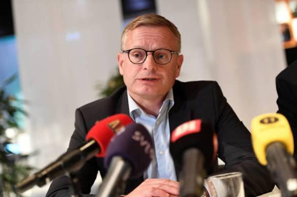 El CEO de Ericsson, Jan Frykhammar. (Reuters)