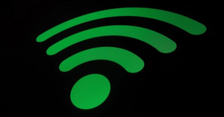 simbolo de wifi en verde