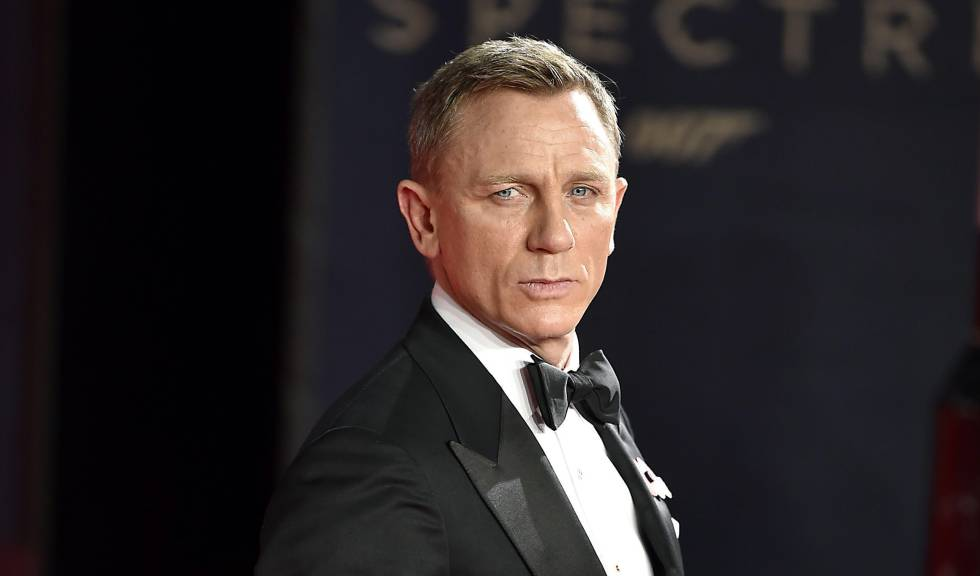 El actor Daniel Craig.