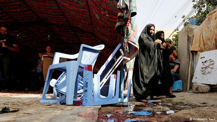 Irak Selbstmordanschlag in Bagdad (Reuters/A. Saad)