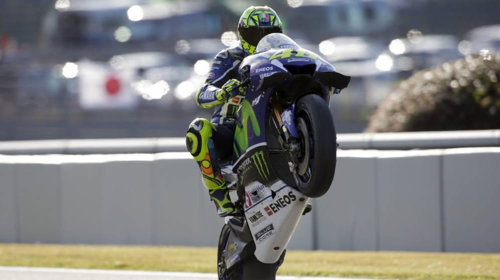 Foto: Rossi saldrá primero en Motegi (Kimimasa Mayama/EFE).