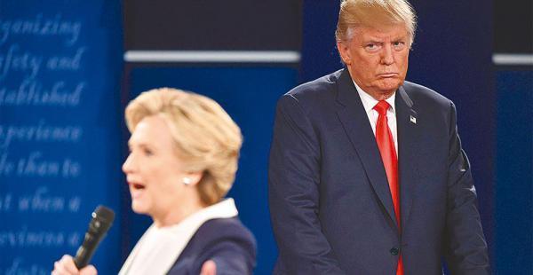 Los debates entre Clinton y Trump han tenido más ataque personal que propuesta de Gobierno