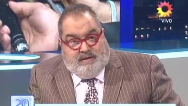 Jorge Lanata y un durísimo editorial a los insultos contra Cristina y su abogado