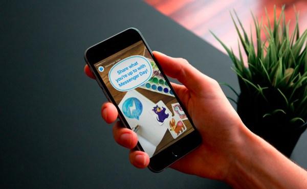 Facebook lleva su copia de Snapchat también a Messenger