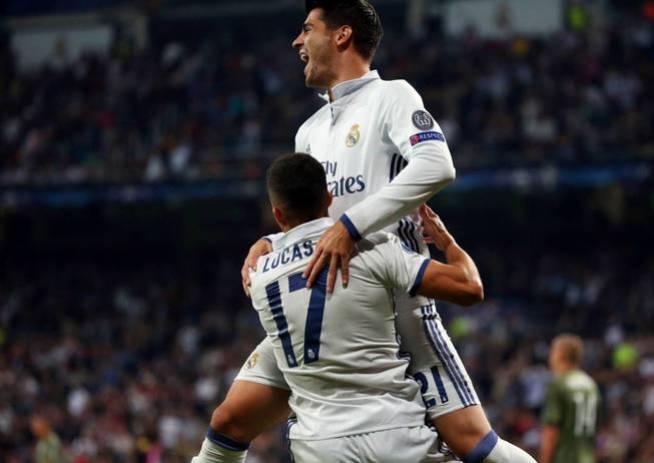 Morata y Lucas Vázquez revolucionaron la segunda mitad. (Reuters)