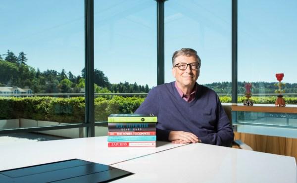 Los libros que recomienda Bill Gates
