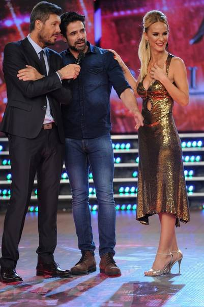 showmatch 2016 Marcelo Tinelli Luciano Castro y Sabrina Rojas