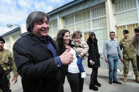 Máximo y Rocío García el año pasado durante las elecciones. Foto Lorena Lucca.