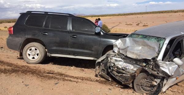 El hecho de tránsito dejó tres víctimas fatales y es investigado por el Organismo Operativo de Tránsito.